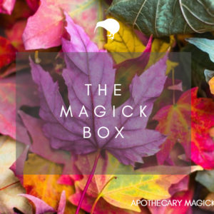 apothecary magicka The Magick Box Mabon 2021