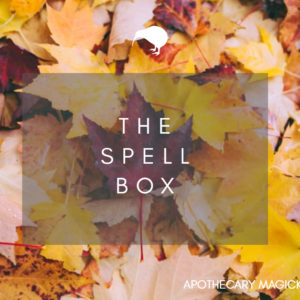 apothecary magicka The Spell Box Mabon 2021