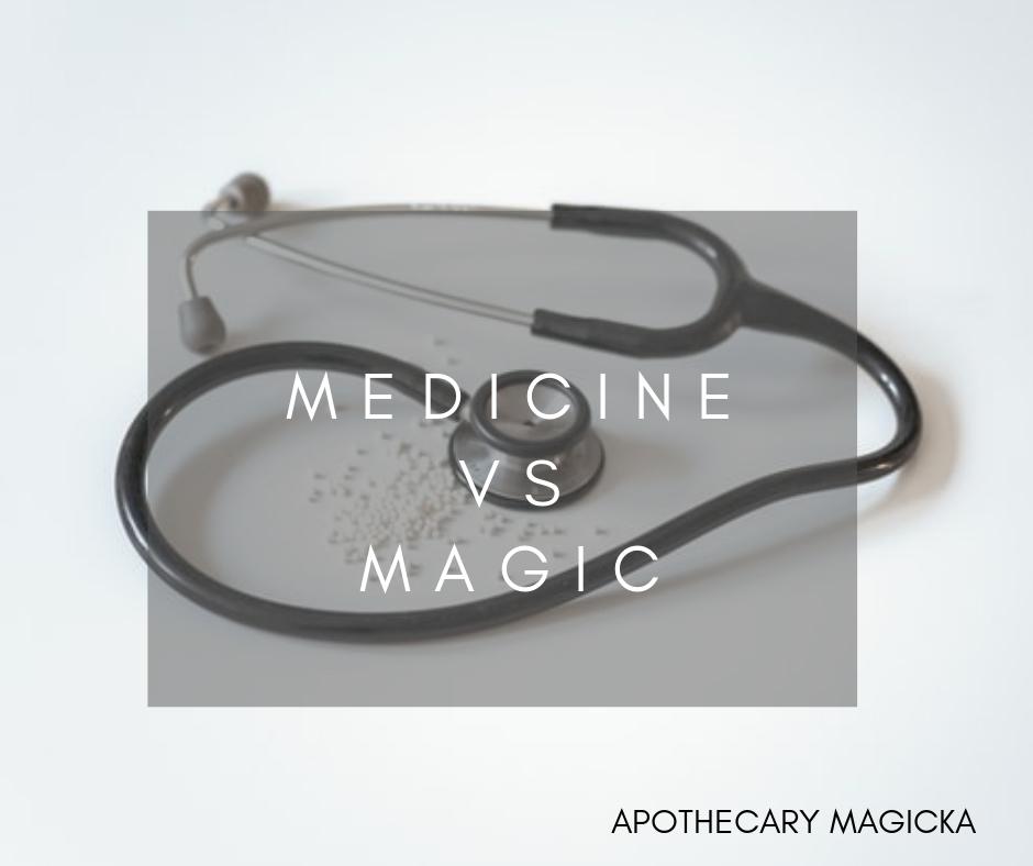 medicine vs magic
