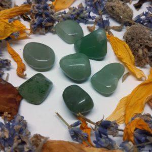 apothecary magicka green aventurine tumble