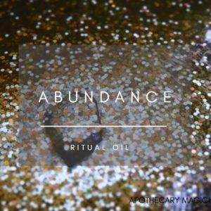 apothecary magicka abundance ritual oil