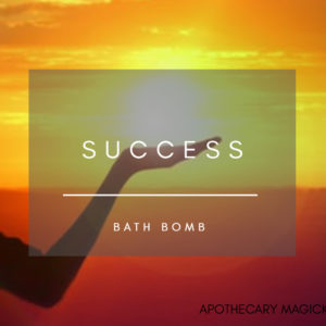 apothecary magicka succes bath bomb