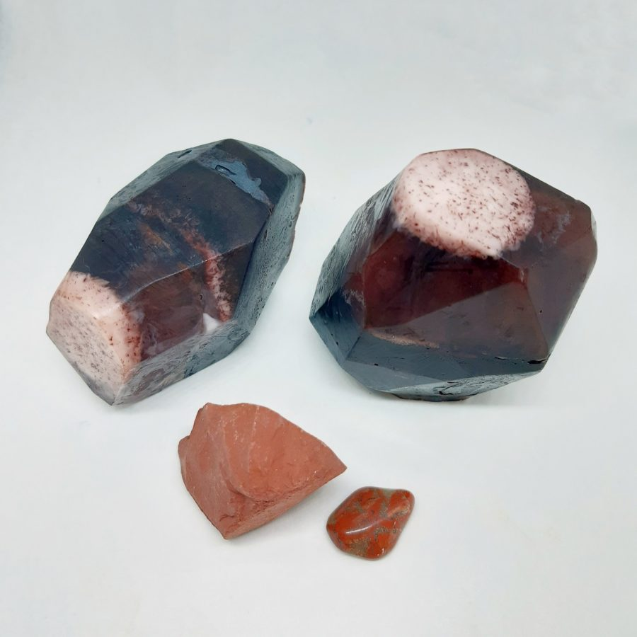 apothecary Magicka crystal infused soap red jasper 2