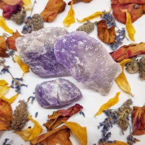 apothecary Magicka raw amethyst 1
