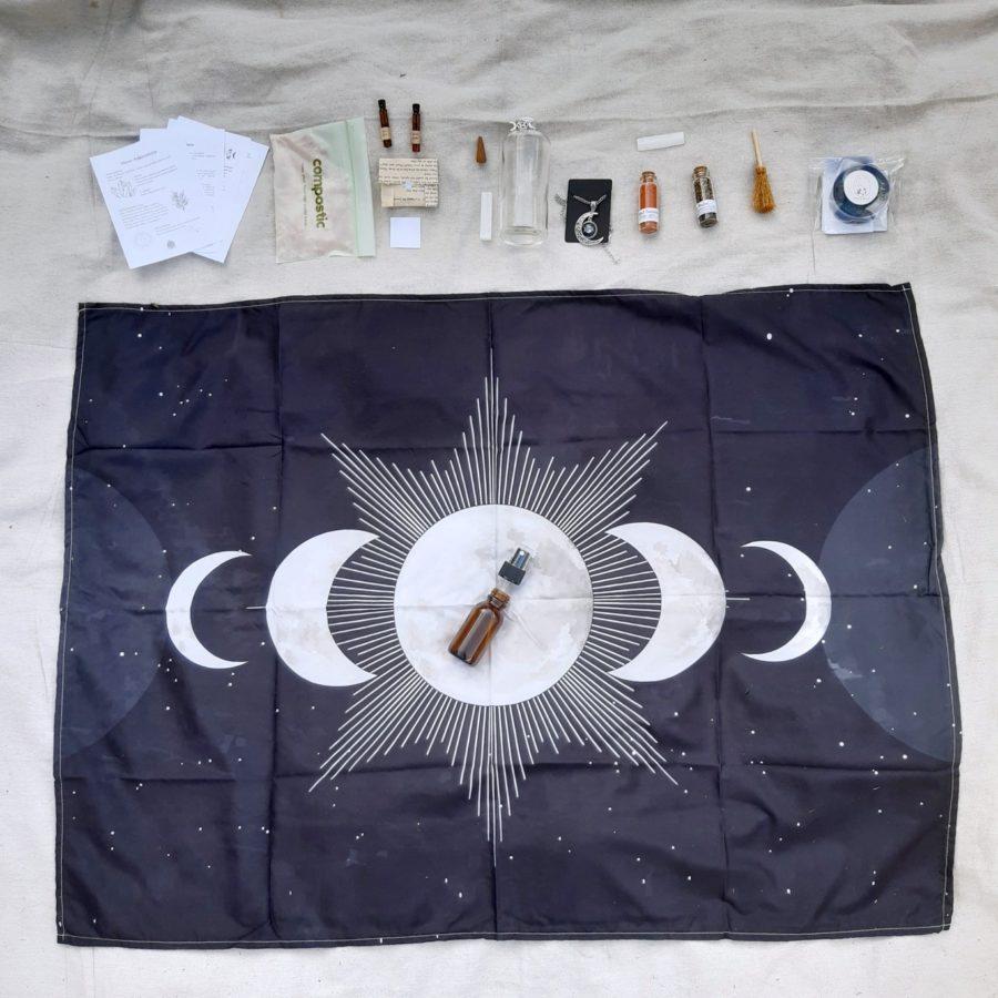 apothecary Magicka february magic box flat lay