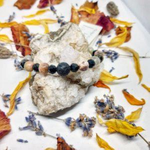 apothecary Magicka energy Bracelet mixed tourmaline