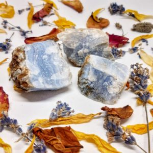 apothecary Magicka raw blue lace agate