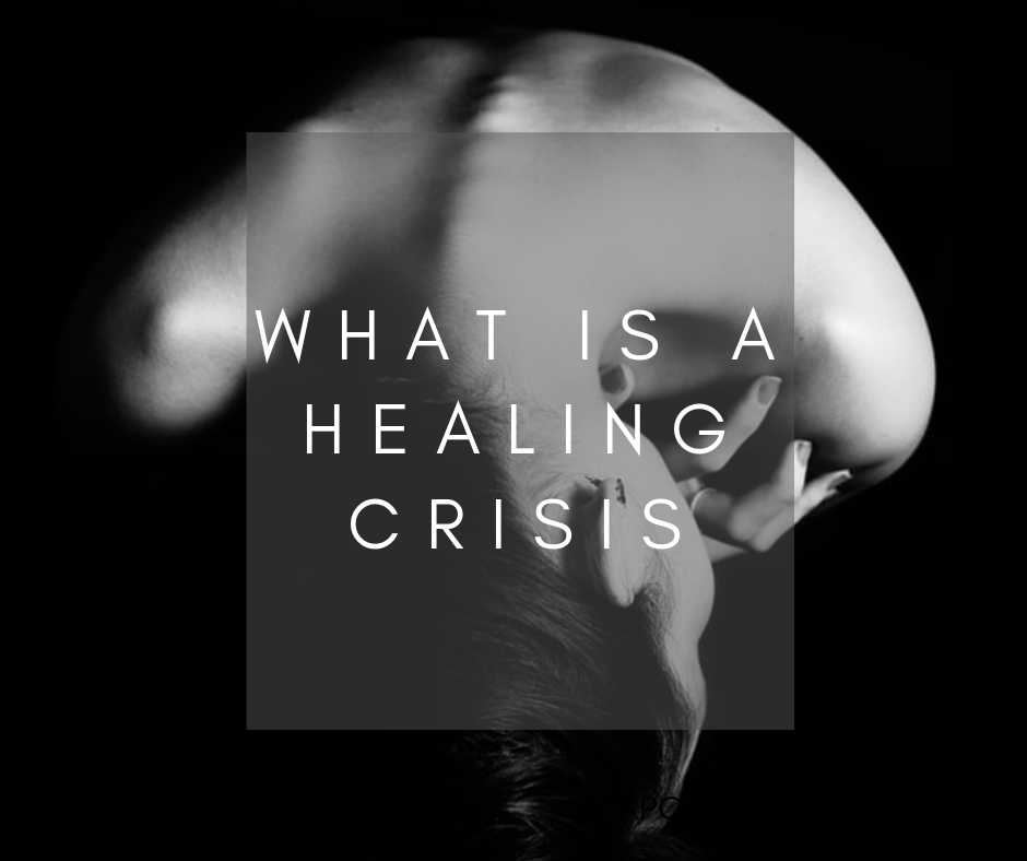 what is a healing crisis