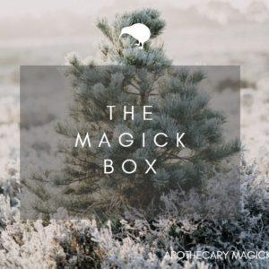 apothecary magicka the magick box winter 2021
