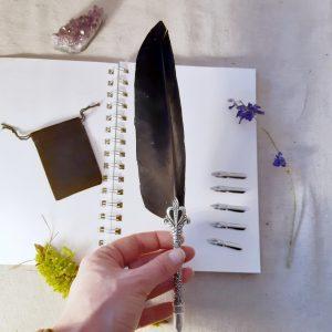 apothecary Magicka feather dip pen