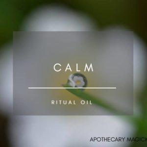 apothecary magicka calm ritual oil