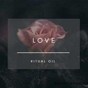 apothecary magicka love ritual oil