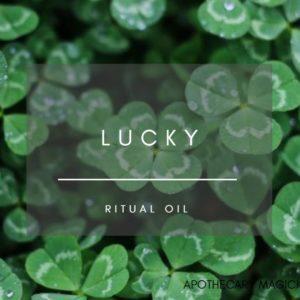 apothecary magicka lucky ritual oil