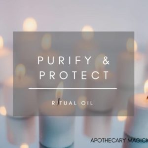 apothecary magicka purify and protect ritual oil